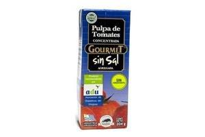 Pulpa de Tomate GOURMET Concentrada sin Sal 204 gr en Tienda Inglesa