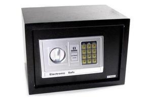 Caja Fuerte SAFEWELL Electrónica con Llave 25x35x25cm en Tienda Inglesa