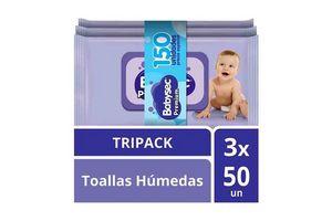 Toallas Húmedas BABYSEC Premium x 150 Unidades en Tienda Inglesa