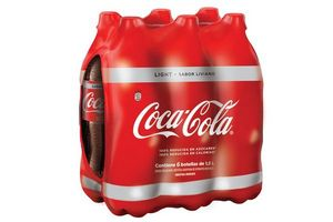 Pack de 6 Refrescos COCA COLA Light 1,5l en Tienda Inglesa
