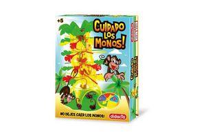 Juego de Mesa DIDACTA Cuidado los Monos! en Tienda Inglesa