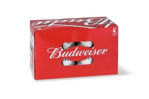 Pack 8 Cervezas BUDWEISER lata 473ml en Tienda Inglesa