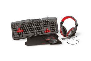 Combo TRUST Gaming Ziva 4 en 1 en Tienda Inglesa