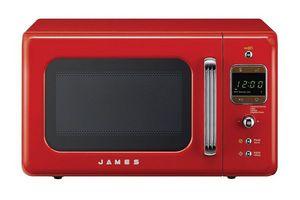 Microondas JAMES Retro Rojo 20 L en Tienda Inglesa
