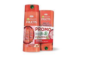 Shampoo Fructis GARNIER Brillo 350 ml + Acondicionador 200 ml en Tienda Inglesa