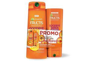 Shampoo Fructis GARNIER Daño 350 ml + Acondionador 200 ml en Tienda Inglesa