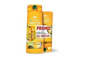 Shampoo Fructis GARNIER Oil Repair 350 + Acondicionador 200 en Tienda Inglesa