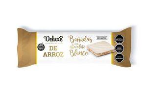 Galletas de Arroz Bañadas en Chocolate Blanco DELUXE 115g en Tienda Inglesa