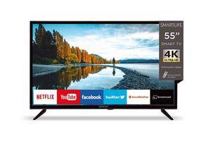 """Smart TV SMARTLIFE 55"""" 4K Ultra HD  ¡Envío Gratis! en Tienda Inglesa"""