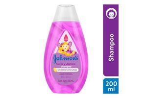 Shampoo JOHNSON'S Fuerza y Vitamina 200ml en Tienda Inglesa