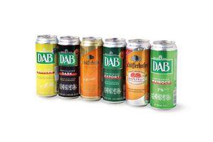 Pack 6 Cervezas Alemanas DAB Lata 500ml en Tienda Inglesa