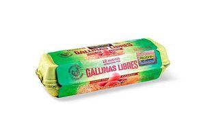 Huevo Colorado PRODHIN Gallina Libre x 12 Unidades en Tienda Inglesa