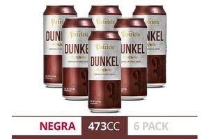 Pack 6 Cervezas PATRICIA Dunkel Lata 473 ml en Tienda Inglesa