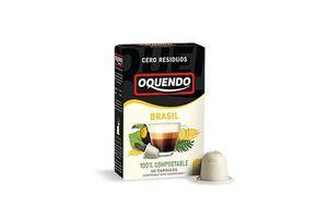 Café en Cápsulas OQUENDO Brasil Nespresso x 10 Unidades en Tienda Inglesa