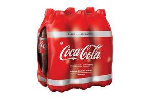Pack COCA COLA  light x6 2.25l en Tienda Inglesa
