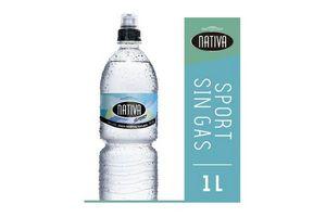Agua Mineral Natural Sport sin Gas NATIVA 1 L en Tienda Inglesa