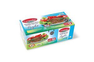 Hamburguesas Extra SIN SAL Agregada CAMPOSUR x12 900g ¡LIGHT 40% MENOS GRASA! en Tienda Inglesa