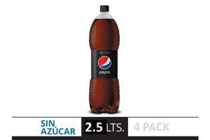 Pack de 4 Refrescos PEPSI Black 2,5l en Tienda Inglesa