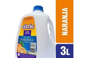 Jugo de Naranja CITRIC Bidón 3 L en Tienda Inglesa