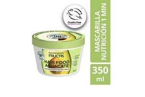 Tratamiento GARNIER Fructis Hairfood Máscara de Nutrición 350 ml en Tienda Inglesa