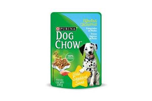 Trozos Jugosos de Pollo para Cachorros DOG CHOW 100 gr en Tienda Inglesa