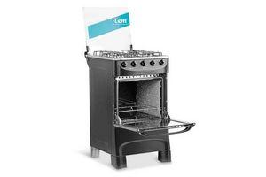 Cocina TEM Mastercook Super Gas 4 Hornallas Color Negro ¡SUPER OFERTA! en Tienda Inglesa