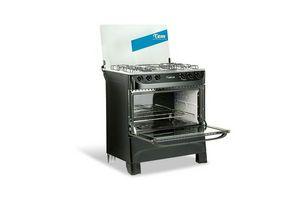 Cocina TEM Mastercook Super Gas 5 hornallas - Negro ¡Envío Gratis! en Tienda Inglesa