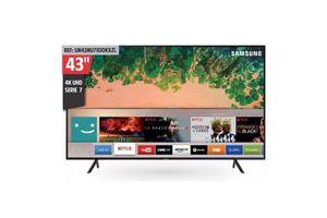 "Smart TV SAMSUNG 43"" Ultra HD 4K Nuevo Modelo ¡Envío Gratis! en Tienda Inglesa"
