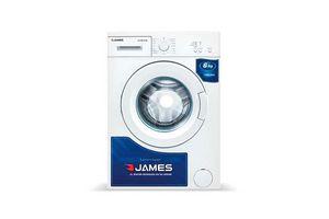 Lavarropa JAMES Carga Frontal Blanco 6Kg en Tienda Inglesa