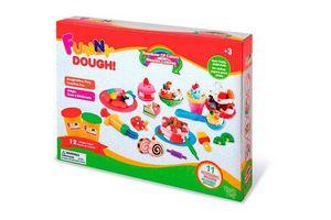Set de Masas FUNNY DOUGH 5 colores en Tienda Inglesa