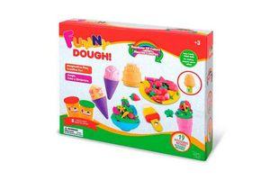 Set de Masas FUNNY DOUGH 3 colores en Tienda Inglesa