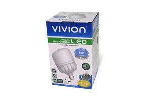 Lampara LED Luz Fría 50w E27 y E40 VIVION en Tienda Inglesa