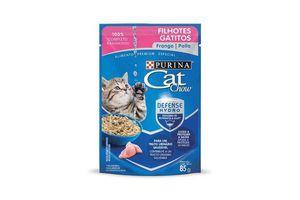 Comida para Gatos CAT CHOW Gatitos sabor Pollo 85 gr en Tienda Inglesa