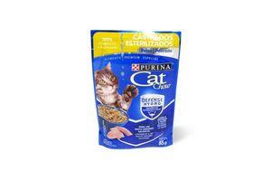 Comida para Gato CAT CHOW Adulto Esterilizado Sabor Pescado 85 gr en Tienda Inglesa