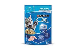 CAT CHOW Adulto Sabor Pescado 85 gr en Tienda Inglesa