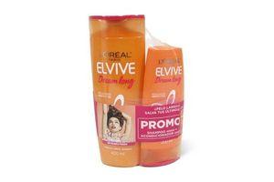 Pack Shampoo Elvive L'ORÉAL 400ml + Acondicionador Dream Long 200ml en Tienda Inglesa