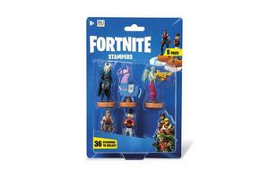 Pack 5 Figuras FORTNITE con Sello en Tienda Inglesa