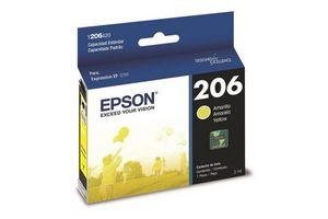 Cartucho EPSON 206 Color Amarillo para Expression XP-2101 en Tienda Inglesa