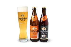 Pack 2 Cervezas SCHOFFERHOFER + Vaso en Tienda Inglesa