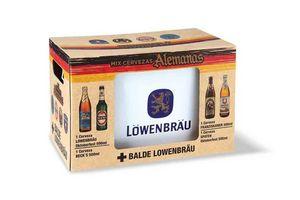 Pack 4 Cervezas Alemanas 500ml + Balde en Tienda Inglesa