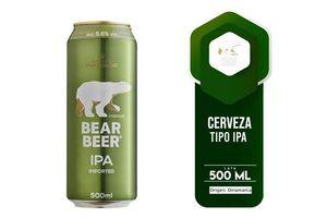 Cerveza BEAR BEER Ipa 5.6% 500 ml en Tienda Inglesa