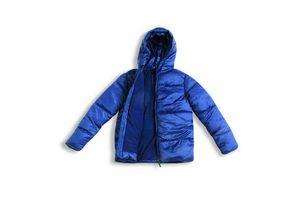 Campera Capitoneada Color Azul Talle 4/10 en Tienda Inglesa
