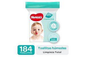Toallitas Húmedas HUGGIES One & Done 160 Unidades en Tienda Inglesa