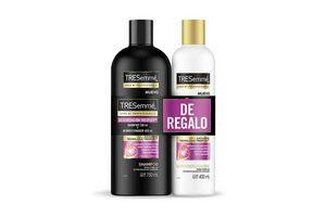 Shampoo TRESEMME Keratina 750ml + Acondicionador 400ml en Tienda Inglesa