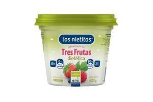 Mermelada Tres Frutas Diet LOS NIETITOS 400gr en Tienda Inglesa