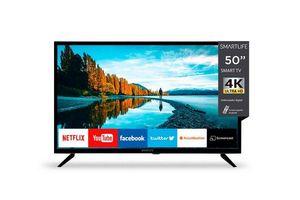 "Tv SMARTLIFE 50"" Smart 4K WiFi Netflix 5.1, Youtube en Tienda Inglesa"