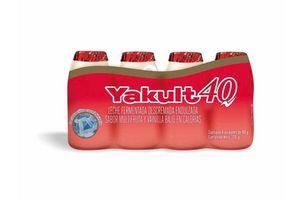 Producto Lácteo x4 YAKULT 40 en Tienda Inglesa