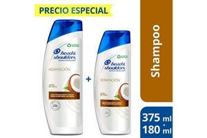 Shampoo HEAD & SHOULDERS Coco 375ml + Shampoo 180ml en Tienda Inglesa