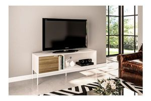 Rack Tv Mallorca Color Blanco en Tienda Inglesa