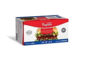 Hamburguesa Extra TIENDA INGLESA con 8 Unidades en Tienda Inglesa